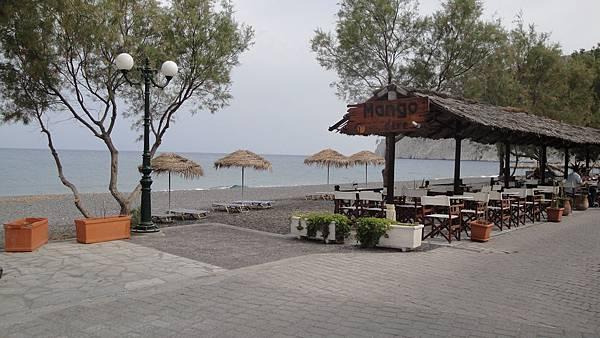 2193.Kamari Beach (黑海灘)