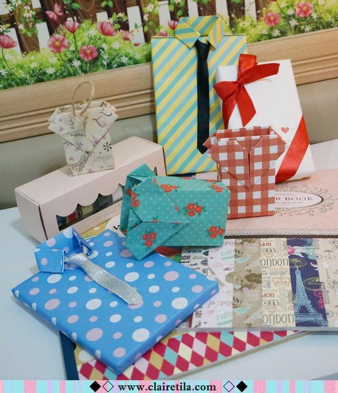 情人節禮物包裝特輯‧愛心形提袋+領帶造型包裝+斜緞帶綁法.JPG