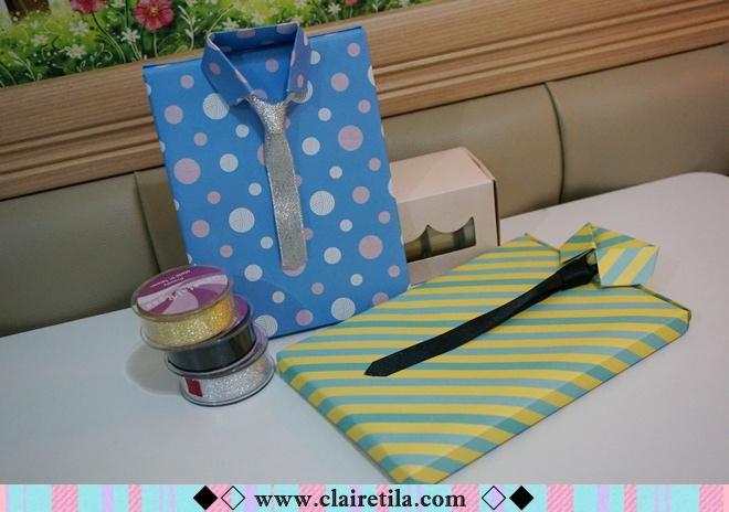 情人節禮物包裝特輯‧愛心形提袋+領帶造型包裝+斜緞帶綁法 (9).JPG