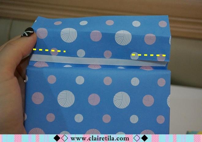 情人節禮物包裝特輯‧愛心形提袋+領帶造型包裝+斜緞帶綁法 (17).JPG