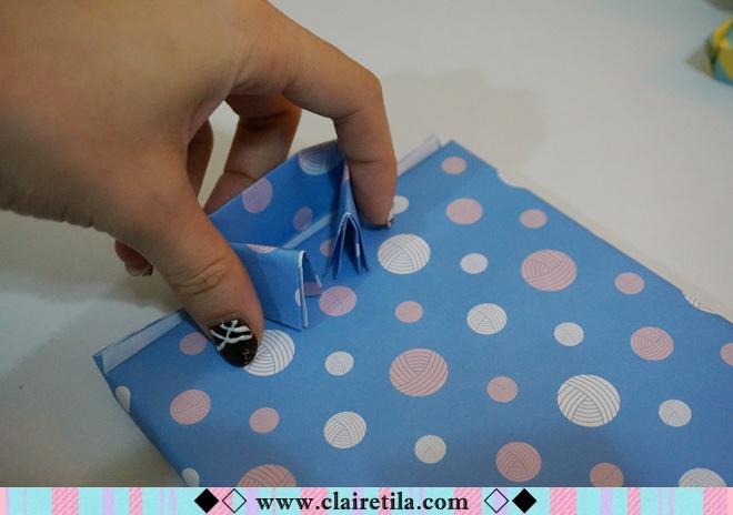 情人節禮物包裝特輯‧愛心形提袋+領帶造型包裝+斜緞帶綁法 (19).JPG