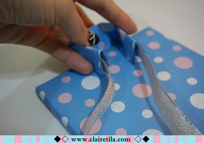 情人節禮物包裝特輯‧愛心形提袋+領帶造型包裝+斜緞帶綁法 (22).JPG