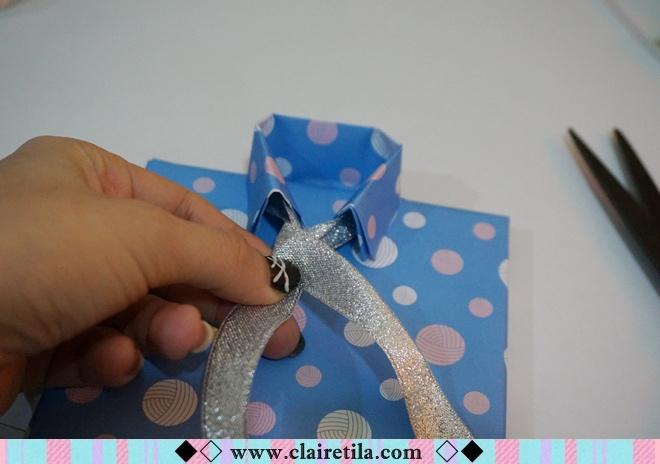 情人節禮物包裝特輯‧愛心形提袋+領帶造型包裝+斜緞帶綁法 (23).JPG