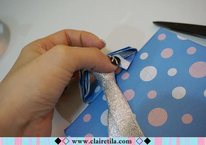 情人節禮物包裝特輯‧愛心形提袋+領帶造型包裝+斜緞帶綁法 (25).JPG