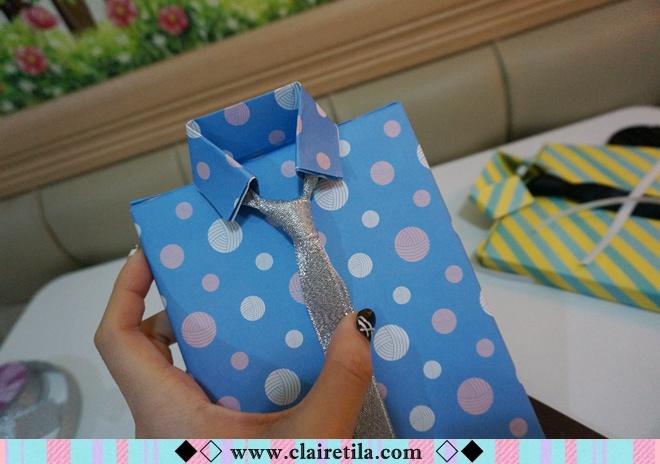 情人節禮物包裝特輯‧愛心形提袋+領帶造型包裝+斜緞帶綁法 (24).JPG