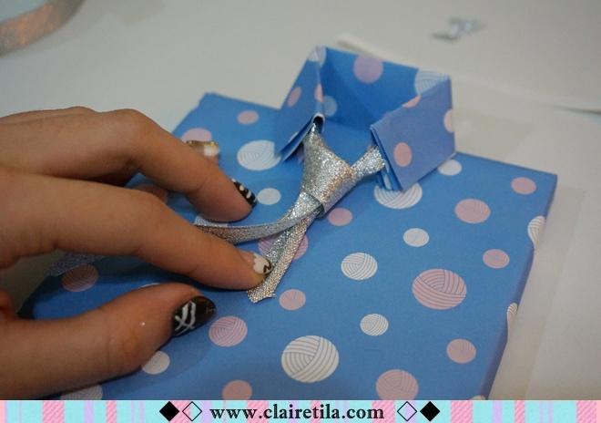 情人節禮物包裝特輯‧愛心形提袋+領帶造型包裝+斜緞帶綁法 (26).JPG