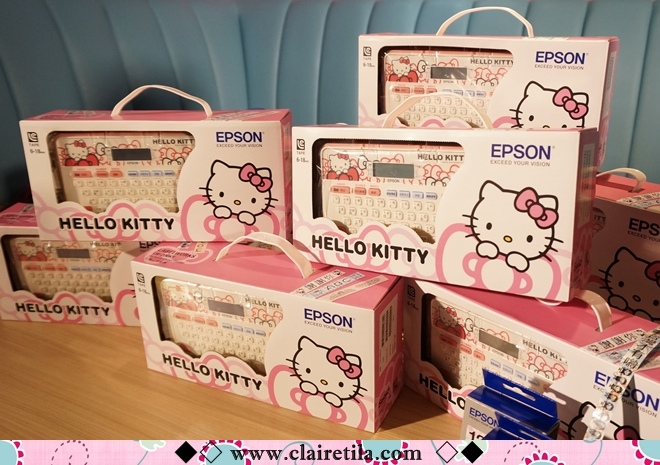 EPSON LW-200KT Hello Kitty中文標籤機 (10).JPG