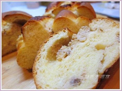 麵包~核桃乳酪麵包