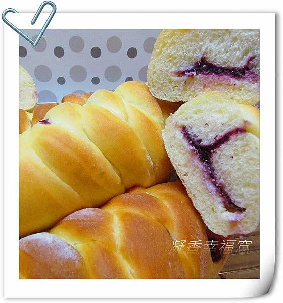桑葚乳酪麵包