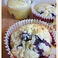 爆漿藍莓乳酪馬芬