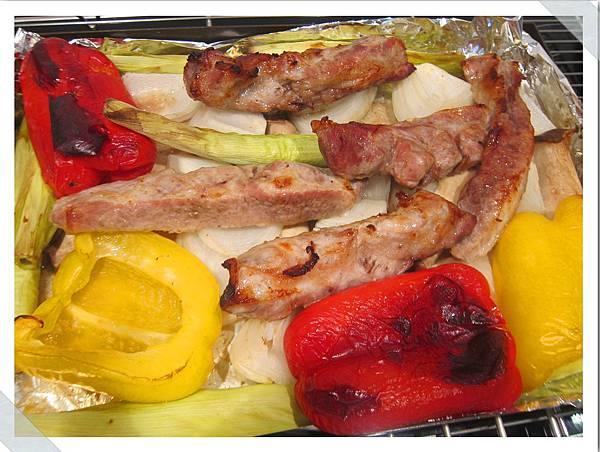蔬菜豬肋條