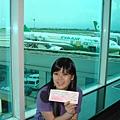我和KITTY 飛機與機票