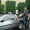 回到未來的車子