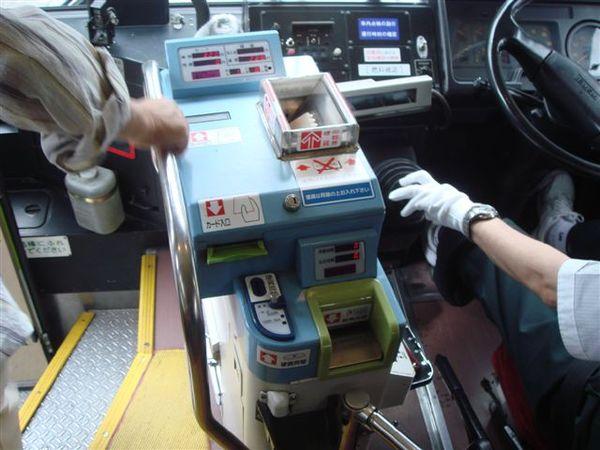 公車上投票和投幣機