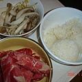 飯.肉片.豆芽菜