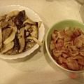 奶油雞肉蘑菇燉飯