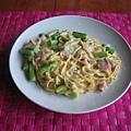蘆筍奶油燉義大利麵