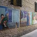 出Ross Alley的壁畫