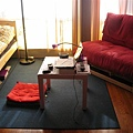 cushion & tiny table