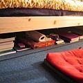 under-bed storage space