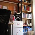 fridge & shelf