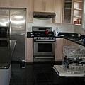 fridge, stove, oven, sink & dishwasher