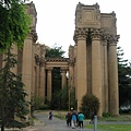 Entrance to The Palace of Fine Arts