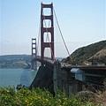 從這一端看Golden Gate Bridge感覺很不同