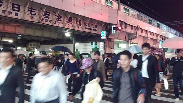 Outside 上野御徒町