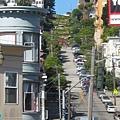 走著走著竟然走到Lombard St.