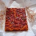 今天買的是pizza口味的focaccia($4.25)
