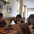 Studying the menu really hard...