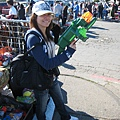 Iris with the GUN