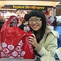 在第一站Target就買了個爆多