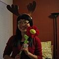 Moose ear headband & Flower