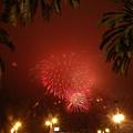 這次的煙火比Independence Day的好看太多了...