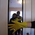 我是那隻黃色手套的主人