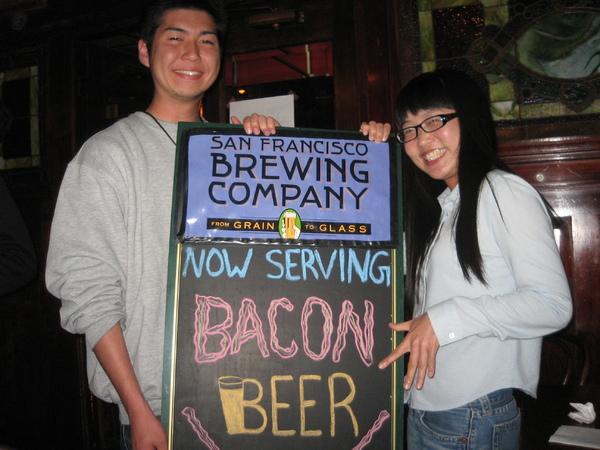 2009.5.21 Atsushi's 25th Birthday Celebration @ San Francisco Brewing Company
