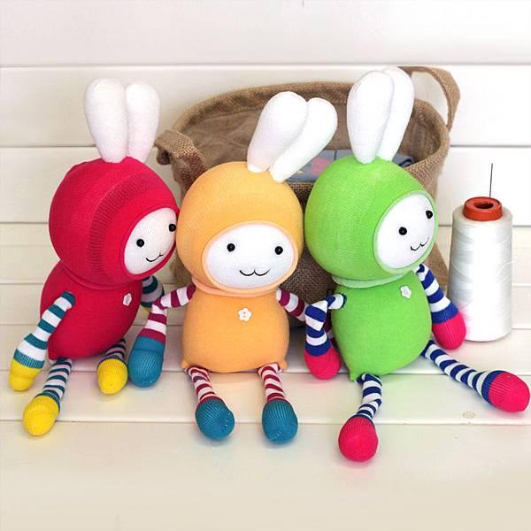 兔襪子娃娃1