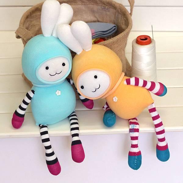 兔襪子娃娃3