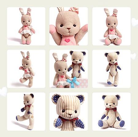 呆萌熊&泰迪兔手牽手玩偶一對5.jpg