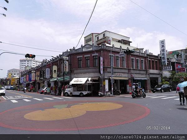 老街的轉角之一