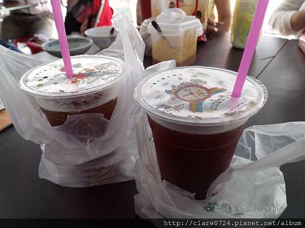 椰子大王冰果室的紅茶,有古早味