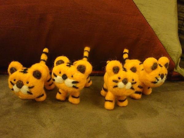 四隻老虎系列