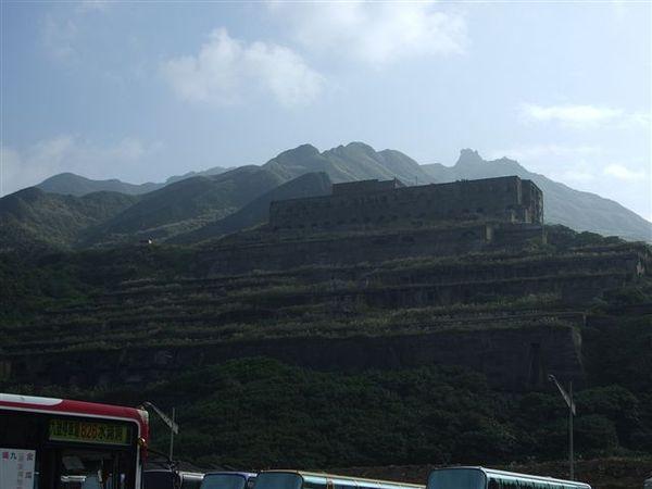 山上的景色