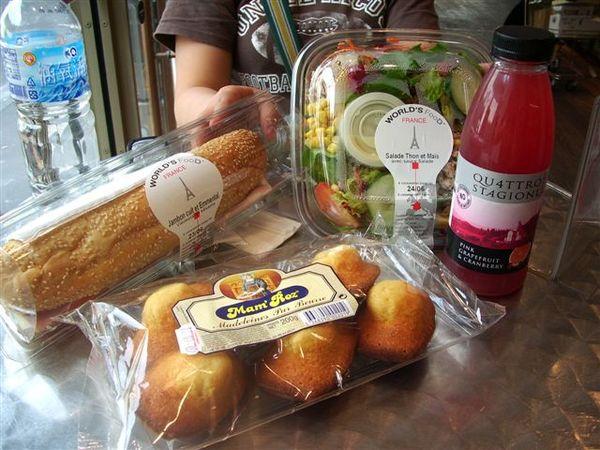 10歐午餐...高貴不貴(不過沒吃飽@@)