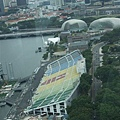新加坡9月F1賽車看台區