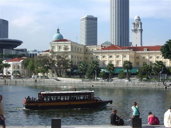 新加坡河-游船