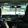 taxi內-從singapore到VIVO CITY