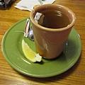 熱紅茶配lemon...超juicy的